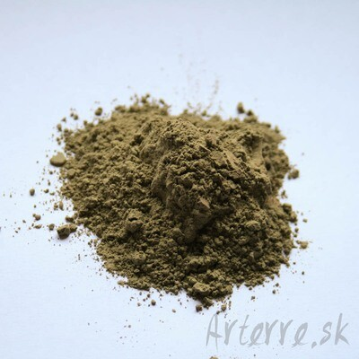 Zelená umbra 500g