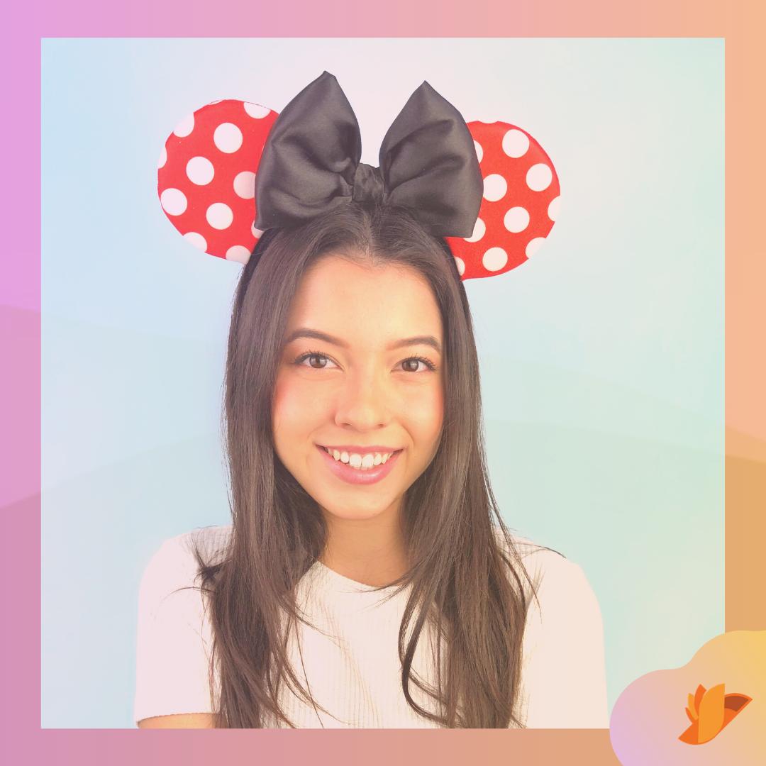 Orelhinha Minnie Mouse