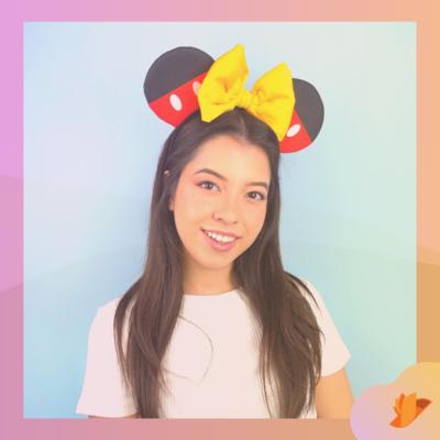 Orelhinha Mickey Mouse
