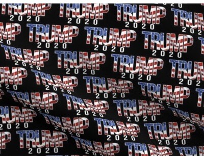 Trump 2020 red/white/blue Western Cowboy Wild Rag Scarf 36""