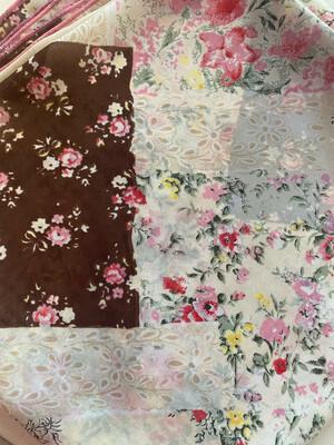 Granny Square- Chiffon Ladies Wild Rag Fashion Scarf
