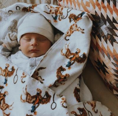Buckaroo Blanket 30x30