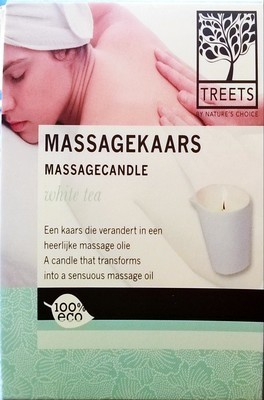 MassageKaars White Tea