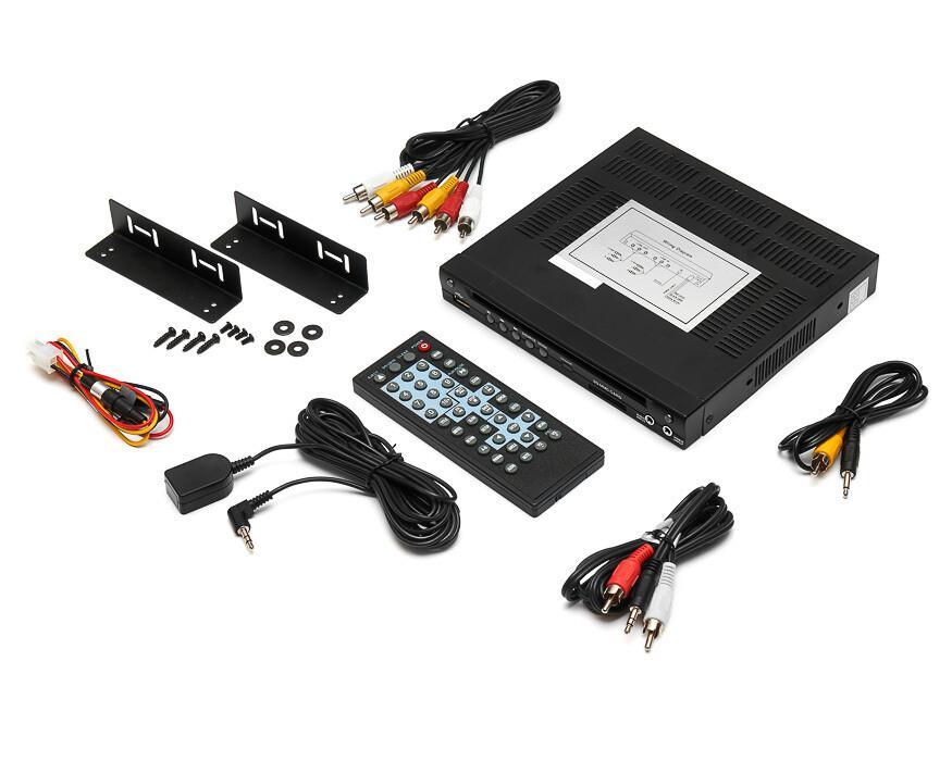 Автомобильный DVD-плеер с поддержкой USB & SD-карт