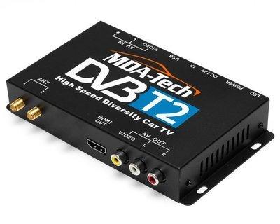 Автомобильный цифровой ТВ-тюнер MDA-DVB-T2 с двумя антеннами