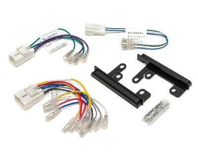 Адаптер для подключения 2DIN на Toyota - 3 разъема + Панели