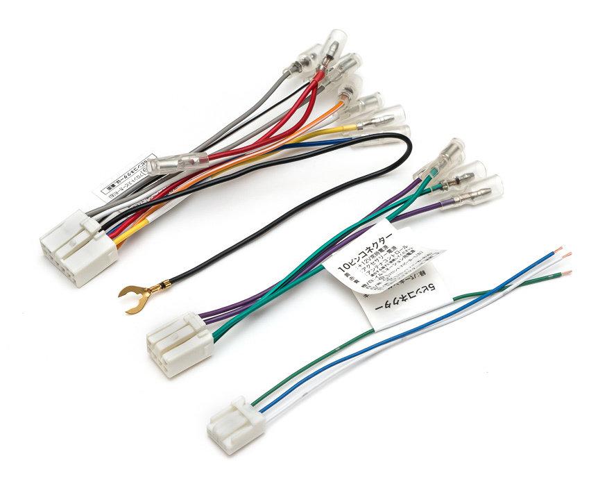 Адаптер для подключения 2DIN на Toyota - 3 разъема