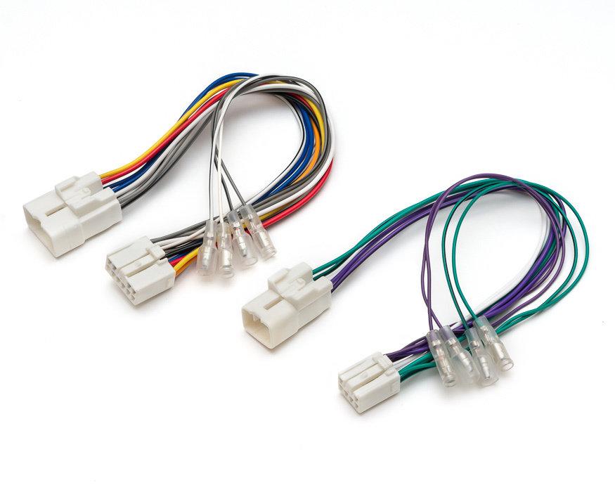 Адаптер подключения доп. динамиков или сабвуфера Toyota - 2 разъема