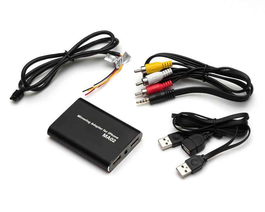 Адаптер для проводного подключения iPhone MDA-MA02