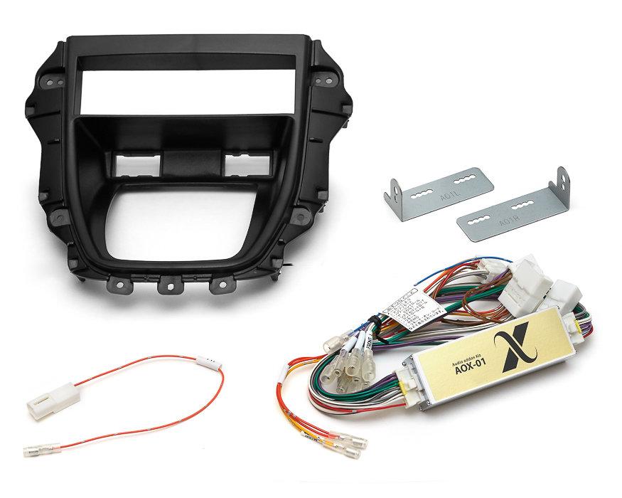 1DIN Toyota Harrier & Lexus RX300 + Аудиоадаптер