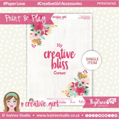 19/CG/A/2 - #Creativegirl ACCESORIES - Studio Poster - February 2019