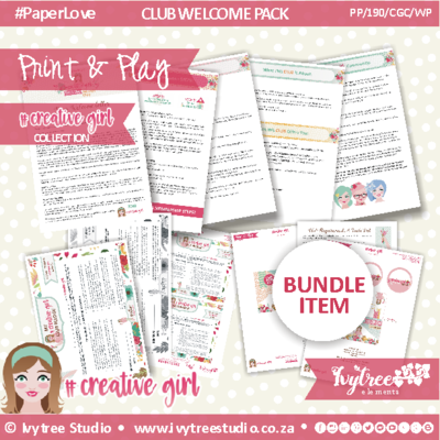 CGC/19/NMB - #ClubCreativegirl 2019 Members Bundle