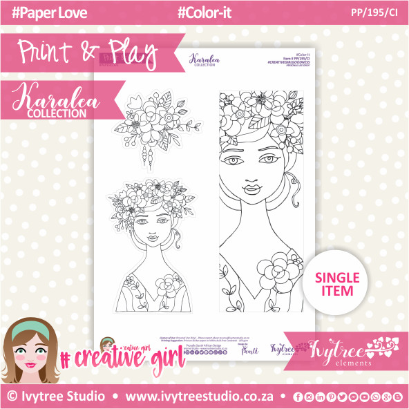 PP/195/CI - Print&Play - Color-it - Karalea Collection