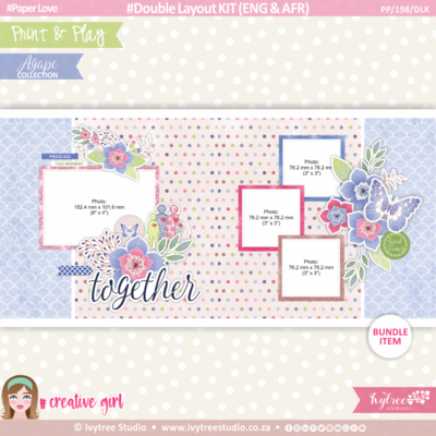 PP/198/DLK - Print&Play - Double Layout KIT (Eng/Afr) - OurStory Collection