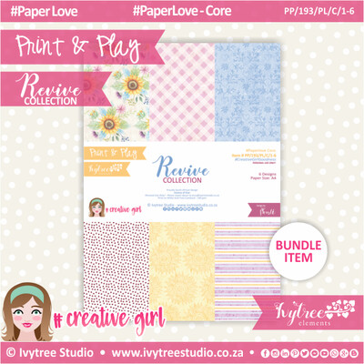 PP/193/PL/C - Print&Play - Revive Paperlove Core Bundle - (A4 x 6)