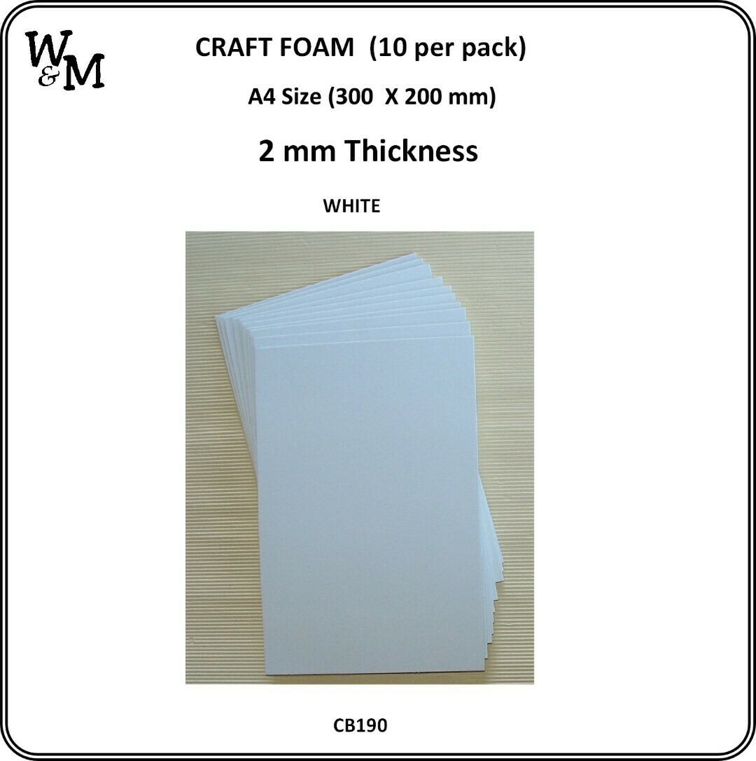 Rainbow Craft Foam - 10 packs (select from the options menu)
