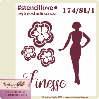 AW/174/SL - Finesse Collection - #StencilsLove- PRE-ORDER - See gallery and options menu