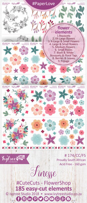 AW/174/FS - Finesse Collection - CUTE CUTS - Flower Shop - PRE-ORDER -please read details in the description