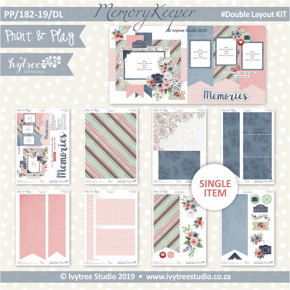 #PP/182-19/DL - Print& Play Memories Double Layout Kit