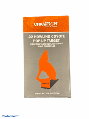"Steel ""Pop-up"" Target (Coyote) .22"