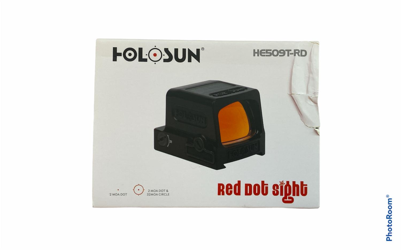 Holosun 1x Elite Open Reflex Red Dot Sight