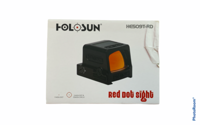 Holosun 1x Elite Open Reflex Red Dot Sight