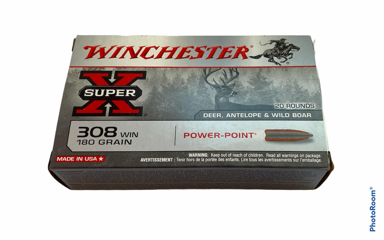 Winchester Super-X .308 Power-Point (180gr)