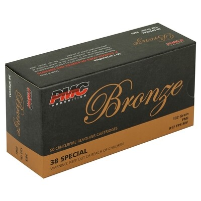 PMC .38 Special FMJ (132gr) - Case of 1000rds