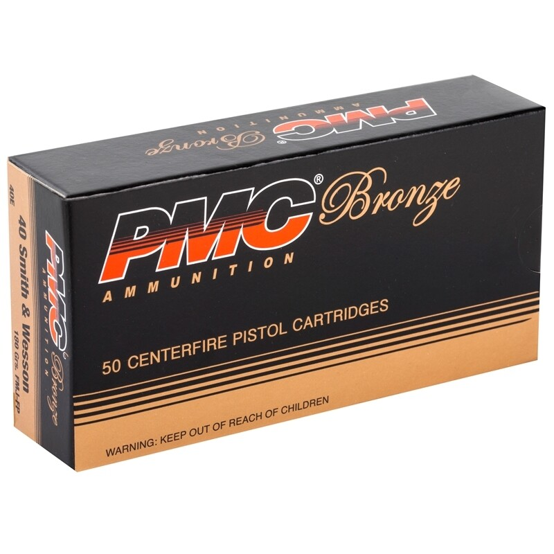 PMC .40S&W FMJ (180gr) - Case of 1000rds