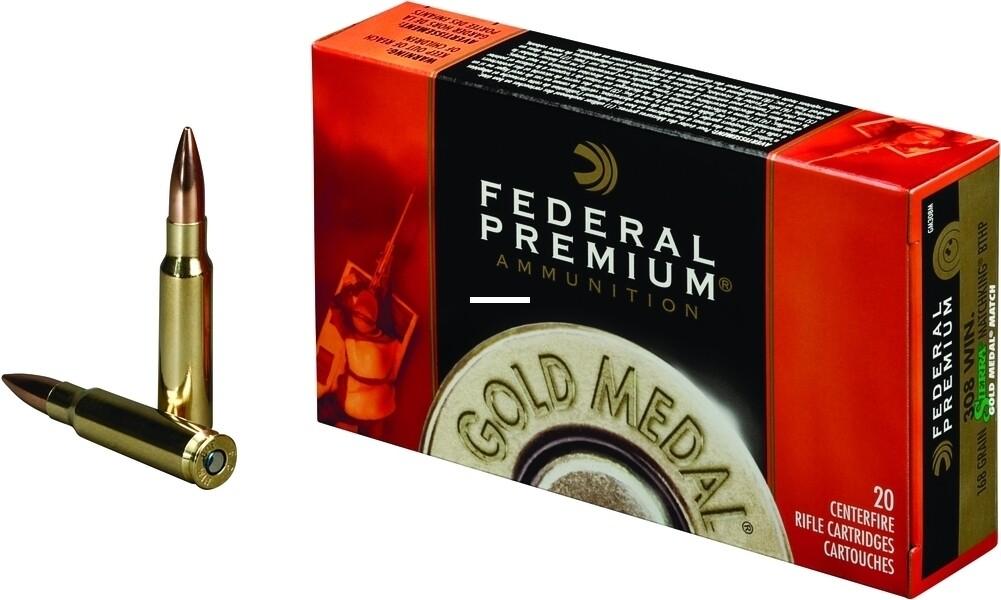 Federal Sierra Match King - .308 Winchester Ammo BTHP (168gr)
