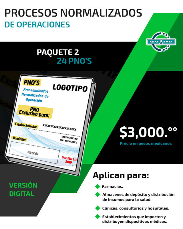 PNO's - Paquete 2