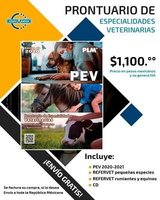 Prontuario Veterinario 2019 + 2 REFERVET +  CD + Envío Gratis