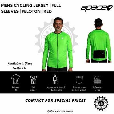 Neon Green Cycling Jersey