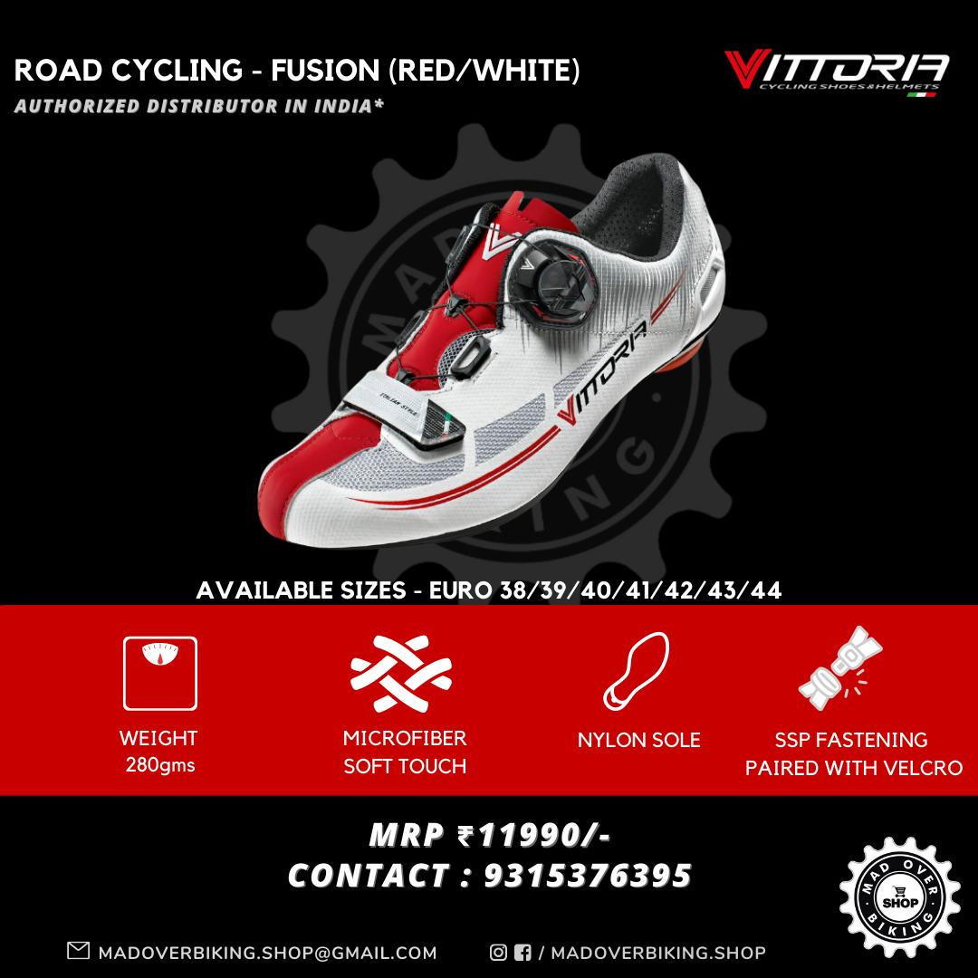 Vittoria Fusion Red/White