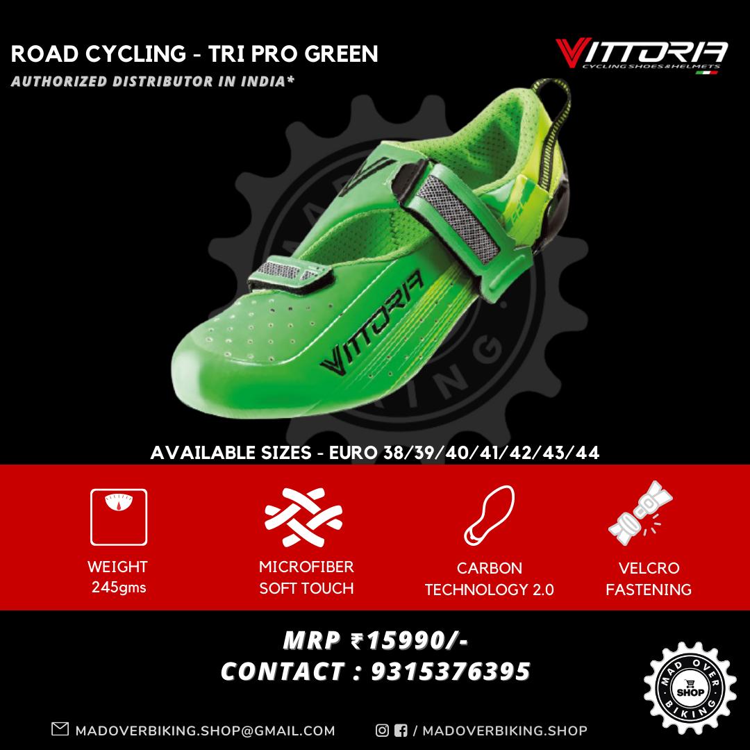 Vittoria Tri Pro Green