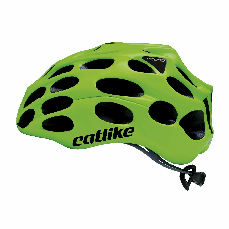Catlike Mixino Road Helmet (Lime Green)