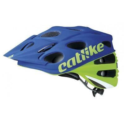 Catlike Leaf MTB Helmet (Green Blue)