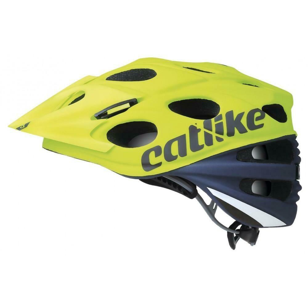 Catlike Leaf MTB Helmet (Grey/Lime Green)
