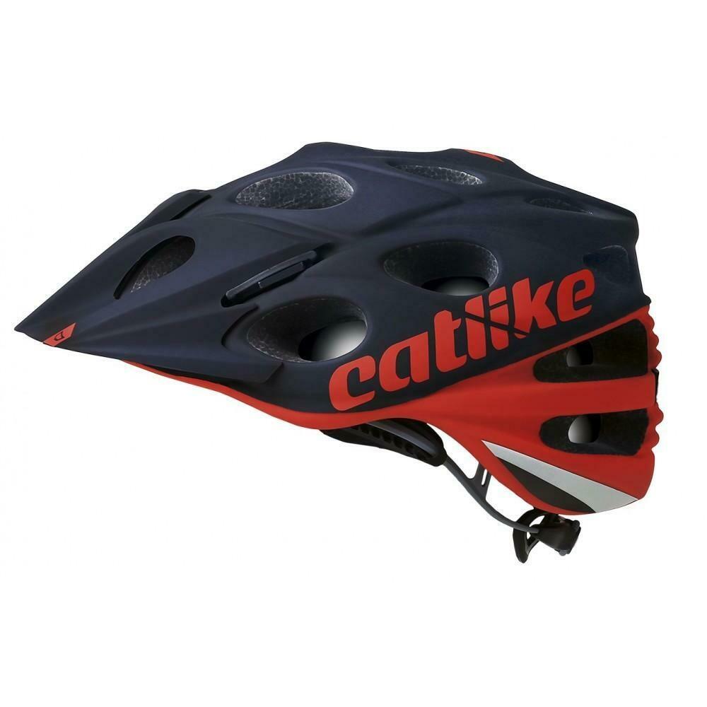 Catlike Leaf MTB Helmet (Red Black)