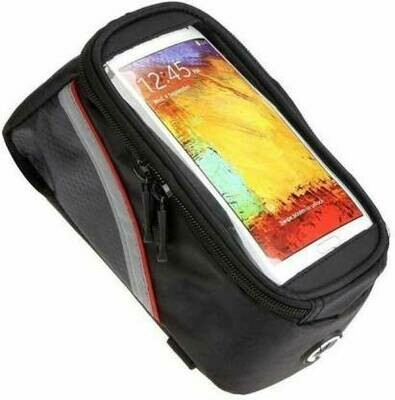 Bicycle Top Tube Cycling Pannier Mobile Holder