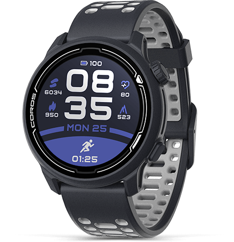 COROS PACE 2 Premium GPS Sport Watch - Silicone Band