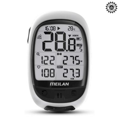 MEILAN Oval GPS Bike Computer (AUTO-SYNC TO STRAVA)