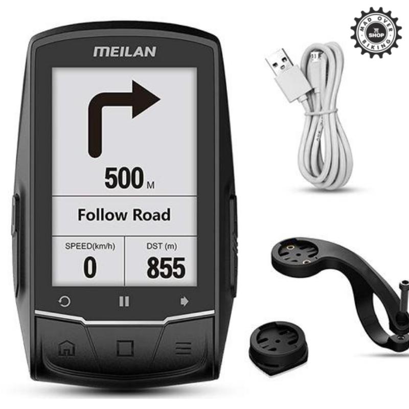 MEILAN M1 Finder GPS Navigation Bike Computer (AUTO-SYNC TO STRAVA)