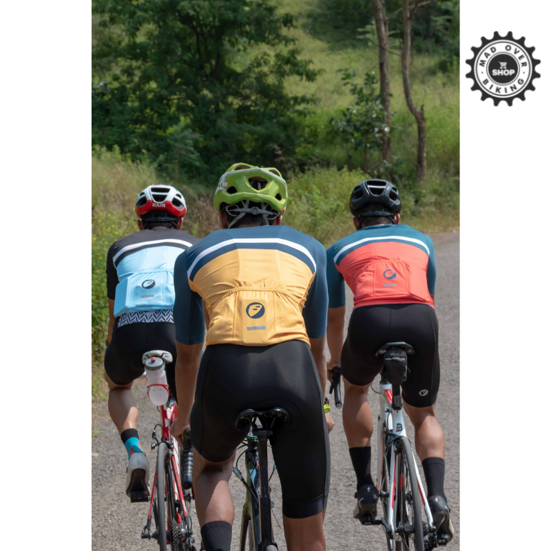 APACE Mens Cycling Jersey | Snug-fit | Breakaway | Sunburst