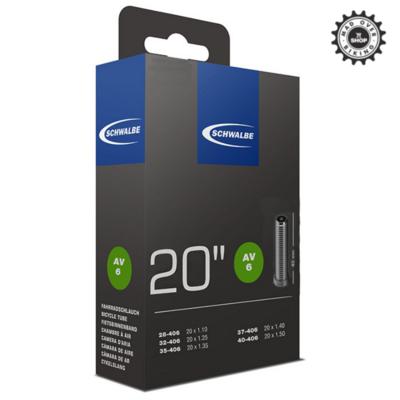 SCHWALBE Schrader Valve Tube (20 x 1.10 - 1.50)