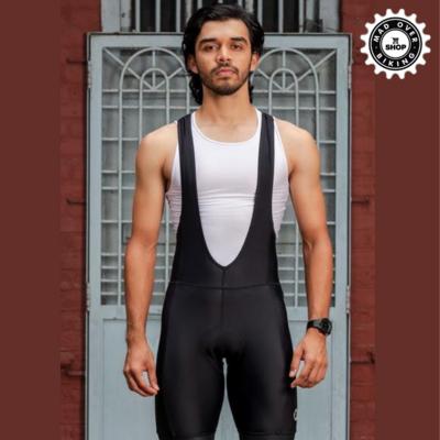 APACE Mens Cycling | Bib Shorts | Explore | Ebony Black