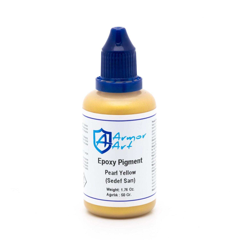 Epoksi Pigment - Sedef Sarı 50 gr
