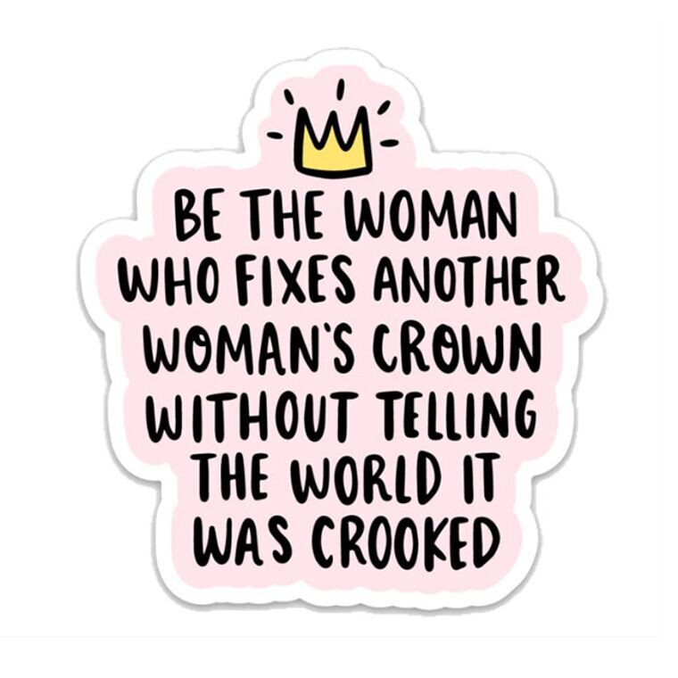 Be The Woman Sticker