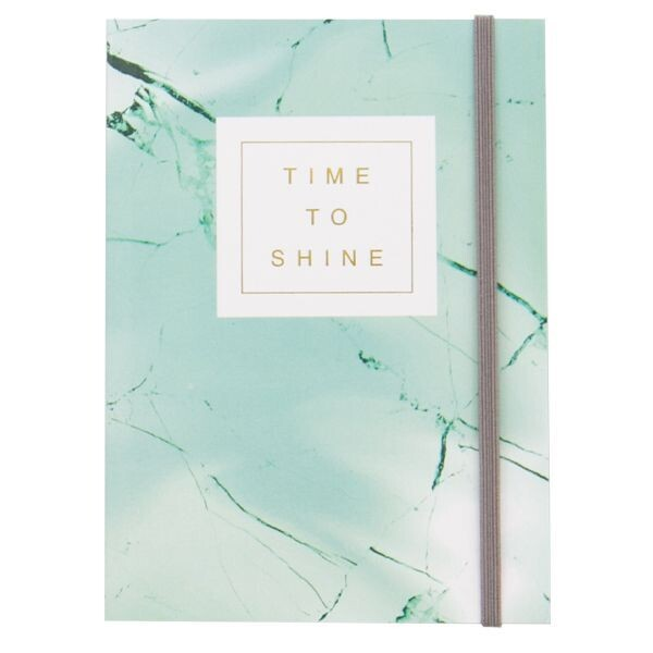 Blue Marble Time To Shine Journal