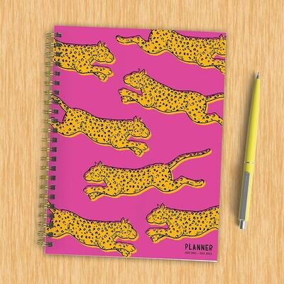Cheetah Weekly/Monthly Spiral Planner